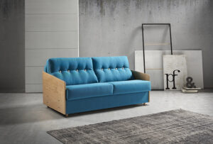 sofa detalle madera