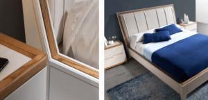 Detalle mueble calidad madera