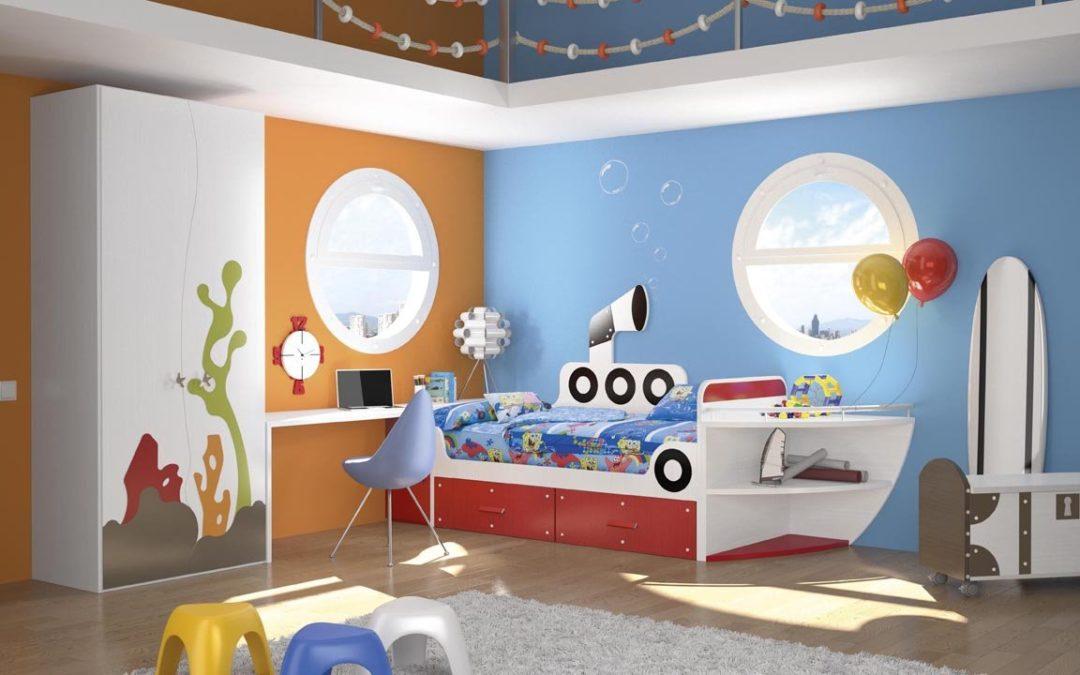Tips para decorar el dormitorio de tus hijos